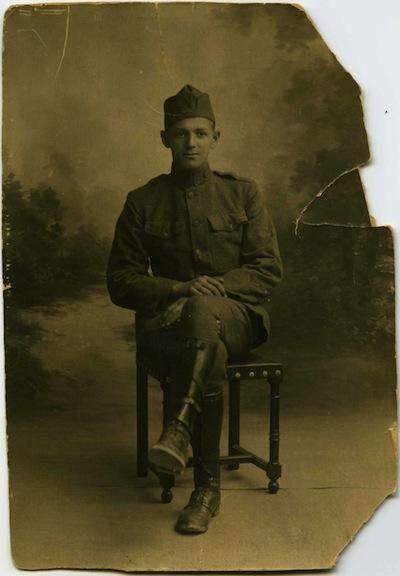 photo - Joseph Seidelman in uniform