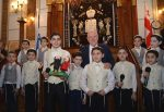 photo - Israeli President Reuven Rivlin at the Great Synagogue in the city of Tbilisi, Georgia, on Jan. 10