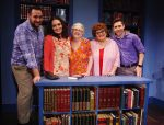 photo - The cast of Crossing Delancey, left to right: Jonathan MacDonald (Sam), Nina Tischhauser (Izzy), Joan Koebel (Bubbie), Helen Volkow (Hannah) and Jon MacIntyre (Tyler)