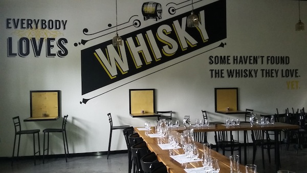 Israel's first whisky distillery