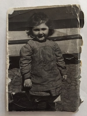photo - Judy Darcy's father, Youli, kept a photo of his sister Rosa's daughter in his wallet. His niece and her parents were killed in the Holocaust