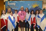 photo - The Hon. Judith Guichon with Richmond Jewish Day School students