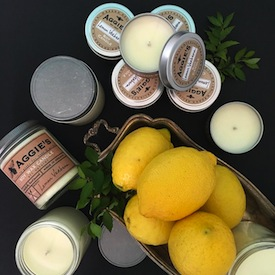 Among the offerings at Olive+Wild are fragrances