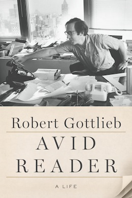 book cover - Avid Reader: A Life by Robert Gottlieb