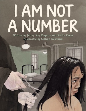 book cover - I Am Not a Number