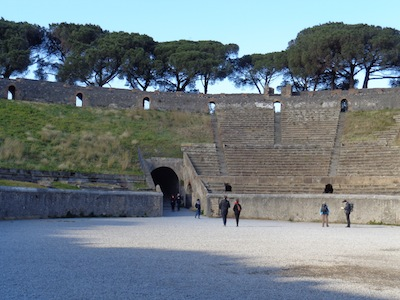 photo - The amphitheatre in Pompeii