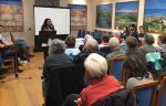 photo - Amna Farooqi speaks at Temple Sholom during her March 13-14 visit to Vancouver