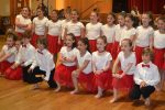 photo - The Grade 1-3 class of Israeli dancers from Richmond Jewish Day School who participated in Festival Ha'Rikud on May 14. See more photos below