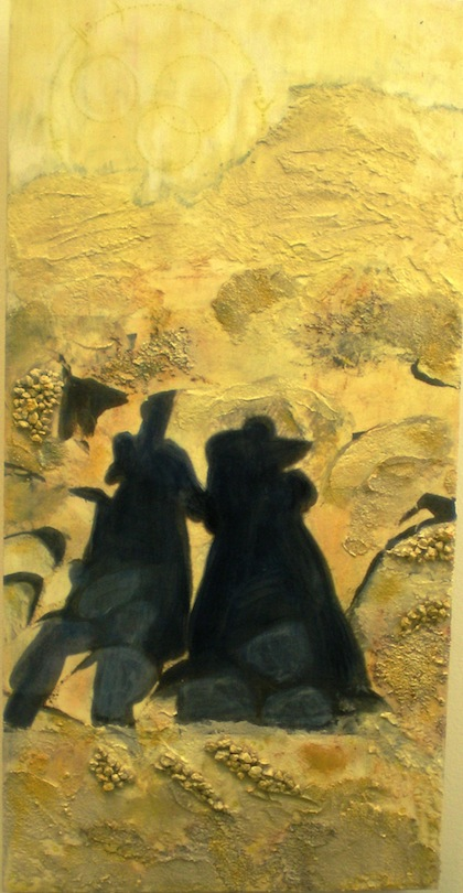 """photo - Gaye Collins' """"Friendship through the Sands of Time"""""""
