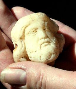 photo - A Roman figurine of Asciepius, god of medicine