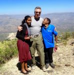 photo - Fantaye, Gary Segal and Tesfaye in 2015, on a return visit by Segal to Gojam, Ethiopia