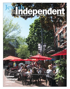 image - Jewish Independent Summer Celebration issue cover 2017
