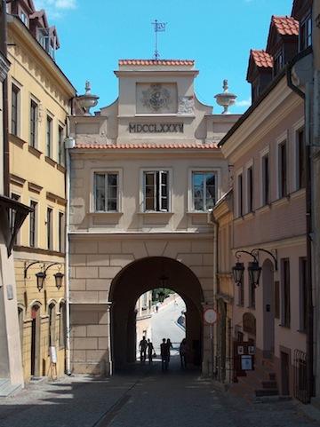 photo - Grodzka Gate in Lublin, Poland