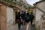 photo - BirthWrong participants in Calanques de Morgiou