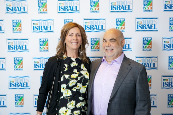 photo - Elaine and Zev Shafran, honourary gala chairs, together with Shay and Mickey Keil, and Ariel and Rachael Lewinski
