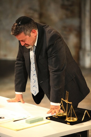 photo - Warren Kimmel is sublime in his dignified portrayal of Shylock in Bard on the Beach's Merchant of Venice