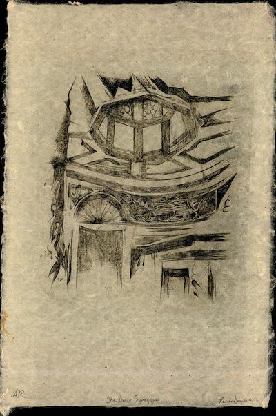"photo - ""The Corner Synagogue"" by Rachel Singel"