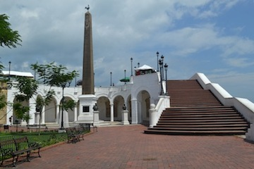 photo - The Plaza de Francia in Panama City recalls the 22,000 French workers lost to malaria and yellow fever in the 1880s