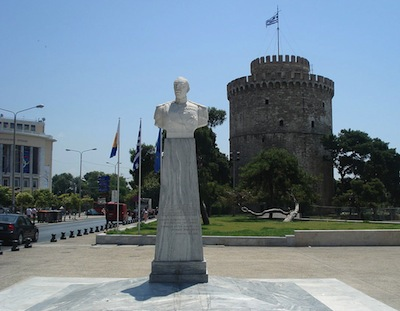 photo - The 15th-century White Tower is one of the most-recognized monuments in Salonika