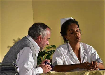 photo - Bema Productions' Victoria Fringe Festival play Horowitz and Mrs. Washington was a great success