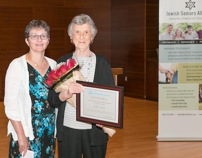 photo - Debbie Rozenberg, left, and Sylvia Yasin