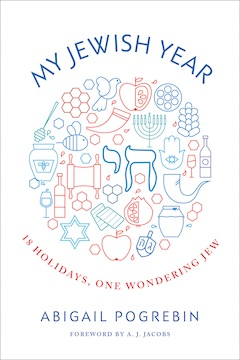 book cover - My Jewish Year: 18 Holidays