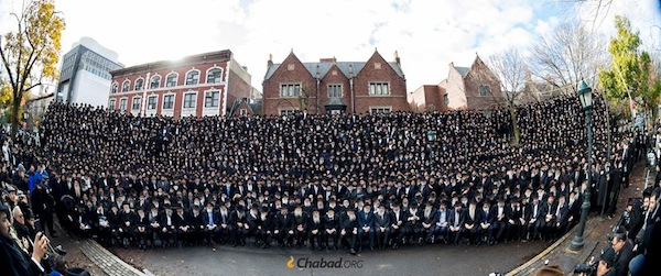 Chabad rabbis gather in N.Y.