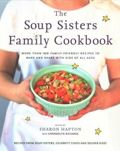 book cover - Soup Sisters Family Cookbook