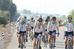 Cycling with Israeli veterans