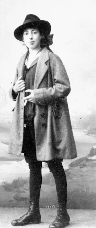 photo - Rosetta van Dam, circa 1920