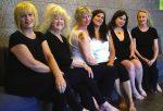 photo - The cast of Calendar Girls, at Metro Theatre until Nov. 25