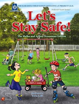 photo - Let's Stay Safe, which was published in English in 2011, and just came out in Yiddish this summer, as Zai Gezunt