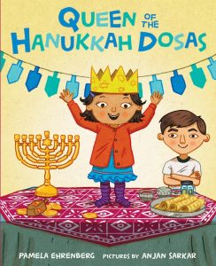 book cover - Queen of the Hanukkah Dosas