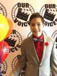 photo - Aiden Cumming-Teicher celebrated his bar mitzvah by organizing Our Voices