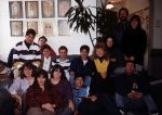 photo - Group at Hillel House, University of British Columbia, 1988