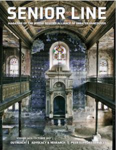 magazine cover - Senior Line