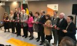 photo - Cutting the ribbon at the official opening of Storeys on Dec. 1