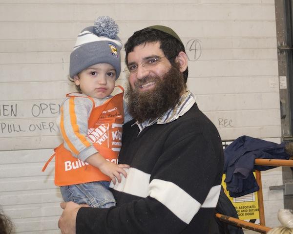 photo - Levi and Rabbi Nuta Yisrael Shurack