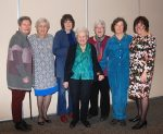 photo - Left to right: former National Council of Jewish Women Vancouver section president Shirley Hyman; Gloria Hendin, tribute committee chair; Barbara Heller, longtime supporter of council; Marion Poliakoff, the guest of honour; Bonnie Gertsman, former Vancouver section president; Anne Melul, former Vancouver section membership chair; and Debby Altow, past president, Vancouver section