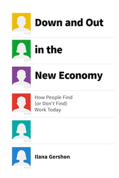 book cover - Down and Out in the New Economy