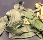 Military clothing seized at Ashdod