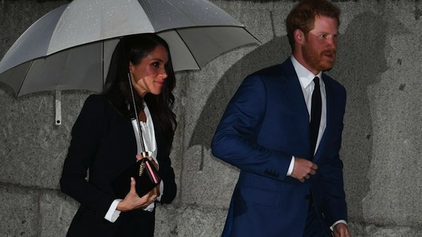 Bride-to-be Markle's got style