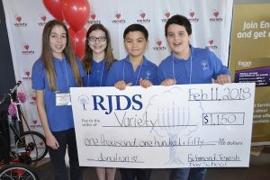 photo - RJDS students raised $1,150 for Variety – The Children's Charity