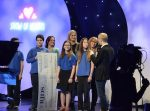 photo - Several students and a few teachers from Richmond Jewish Day School were invited to appear on Variety's Show of Hearts telethon
