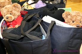 photo - Some of the care packages were specifically for children in need