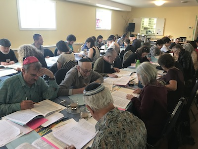 photo - Talmud workshop at Or Shalom