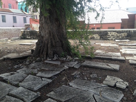 photo - The synagogue grounds include a cemetery