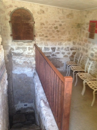 photo - The inside of  the mikvah