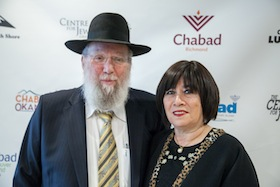 photo - Chabad Lubavitch BC director Rabbi Yitzchak Wineberg and his wife, Henia