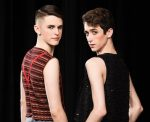 photo - Michael Wilkinson, left, and Kurtis D'Aoust in Royal City Musical Theatre's Cabaret, which plays at Massey Theatre until April 29